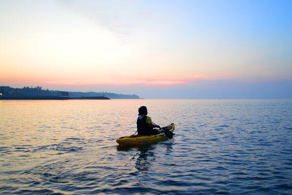 早起きが辛くても、朝日を見た後は清々しい。早起きしてよかったと心から思う瞬間